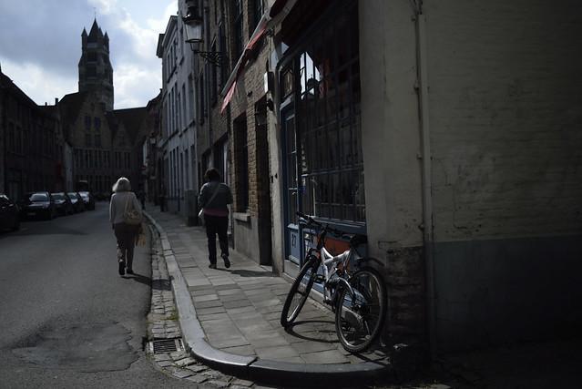 at a corner of Bruges(color version)