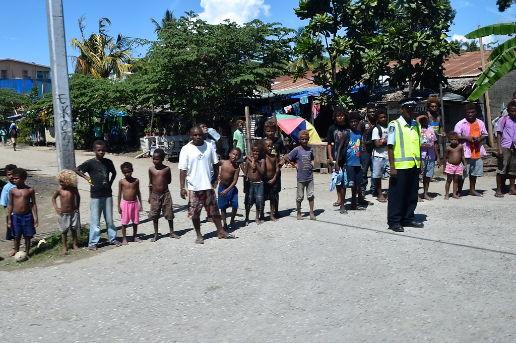 Solomon Islands Residents Turn Out to See Secretary Kerry