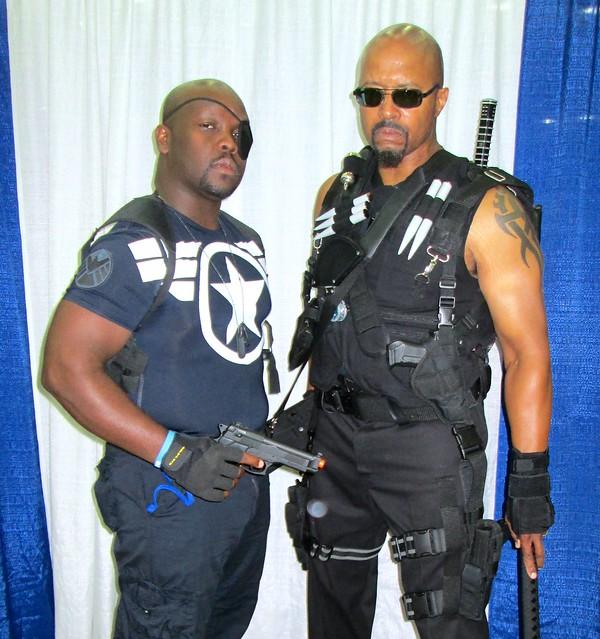 Nick Fury and Blade