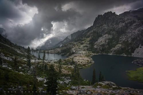 Thunderstorm in the Trinity Alps