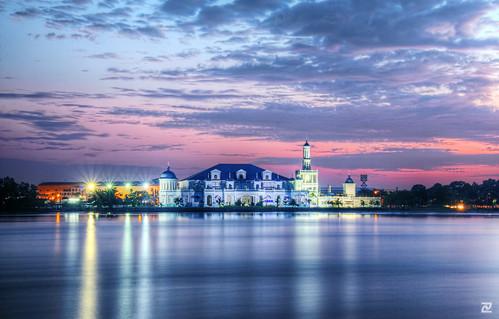 dawn mosque masjid muar tanjungagas