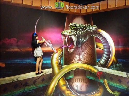 3d exhibition sticker (238) | by 3D floor sticker - YeJun