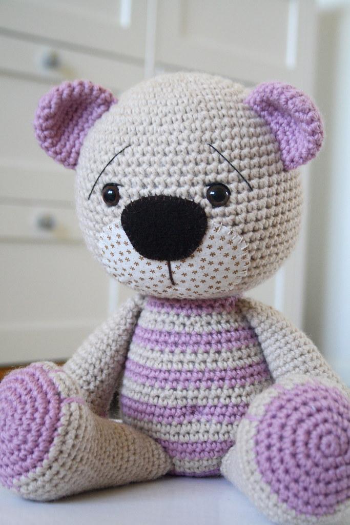 Amigurumi pattern crochet BEAR PATTERN crochet teddy bear | Etsy | 1024x683
