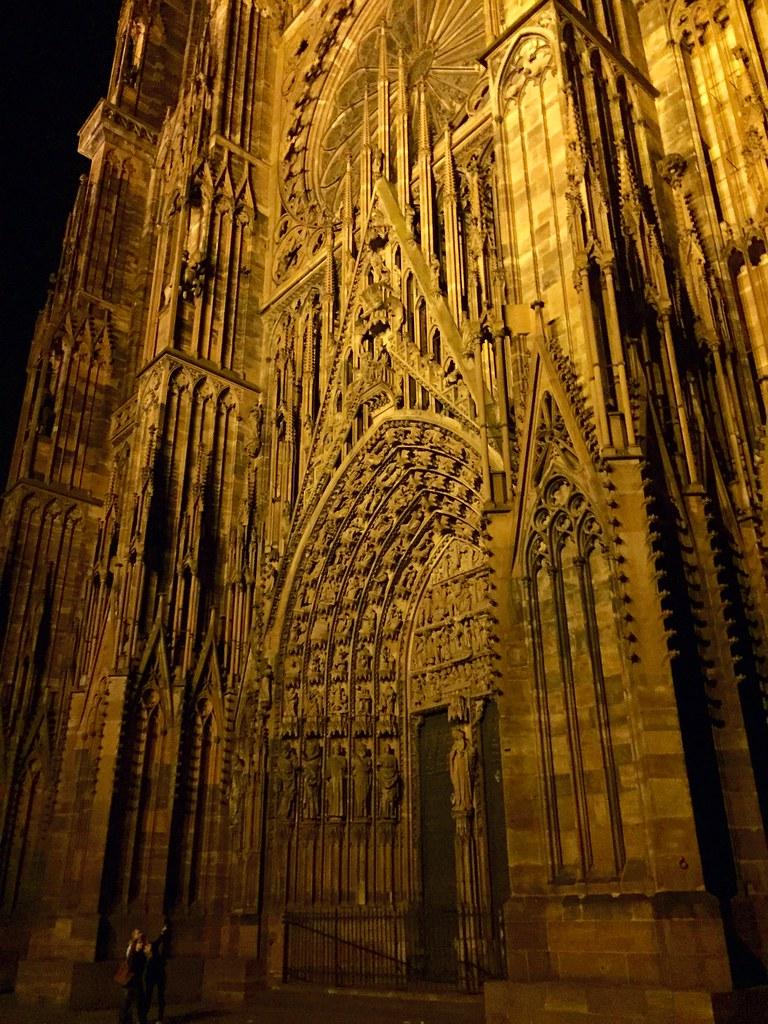 Strasbourg Dans La Nuit Strasbourg Alsace France Flickr
