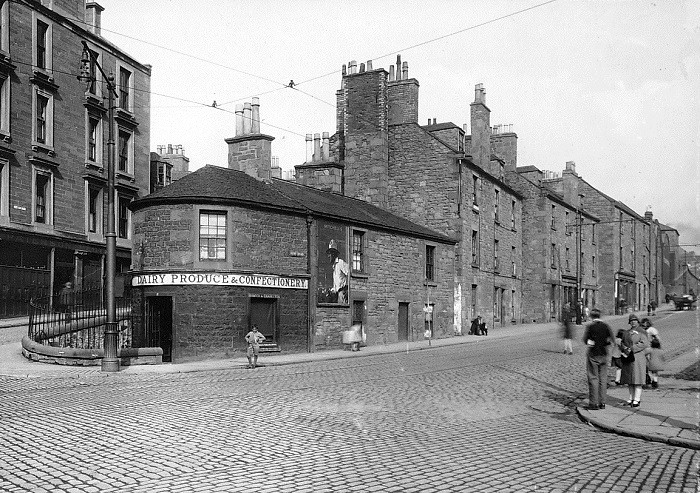 Image result for Dundee city centre 1920