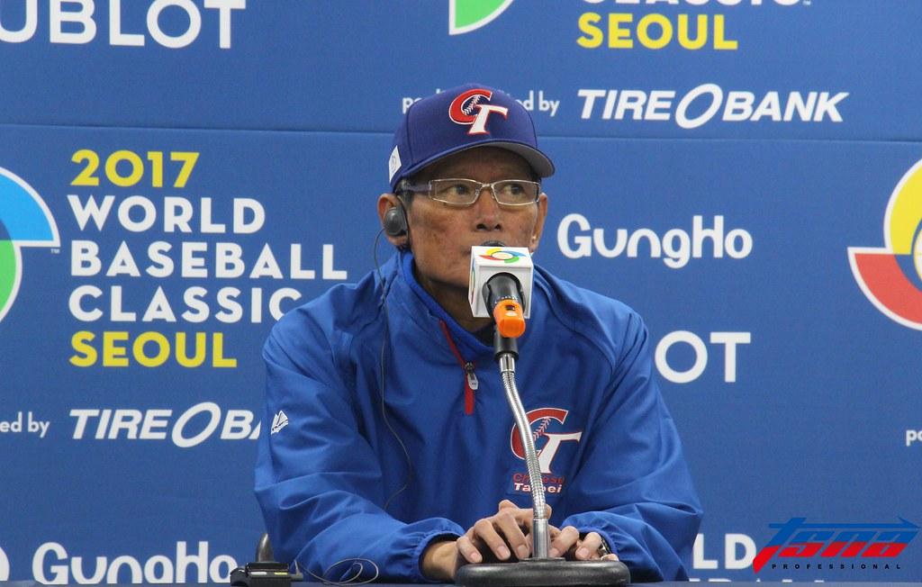 中華隊郭泰源前總教練。(資料照。特派記者Mimosa/首爾現場拍攝)