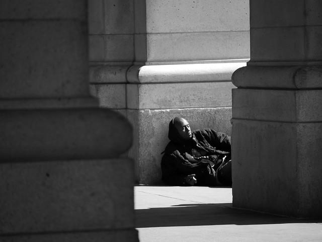 Man at Union Station. Washington DC