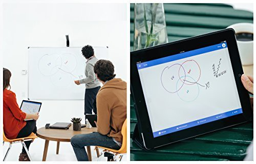 share your notes on the whiteboard during video conferences with Kaptivo