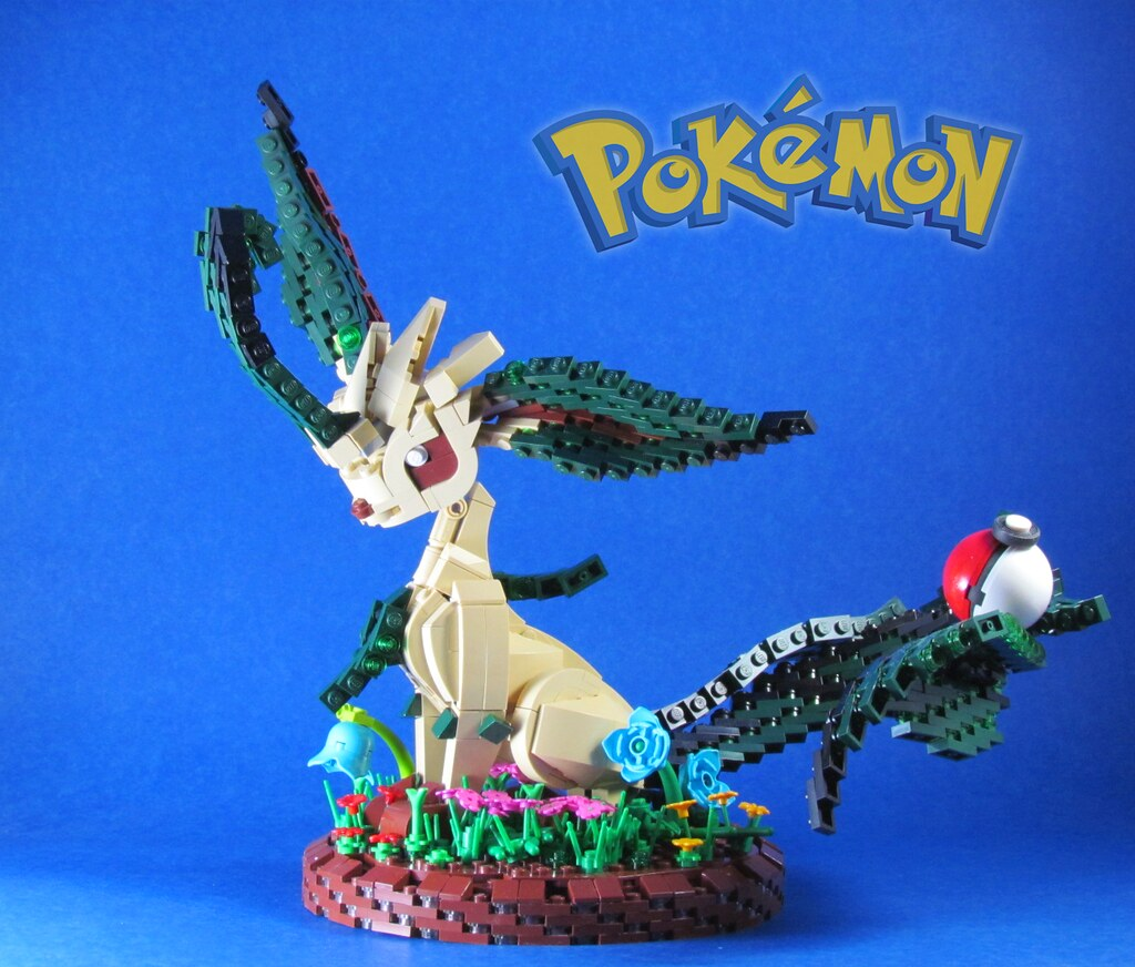 Pokemon: Leafeon | She is the grass type Eevee evolution, Le
