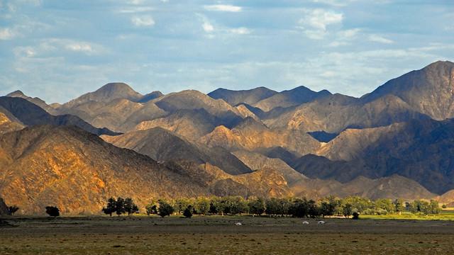 Landscape in western Mongolia