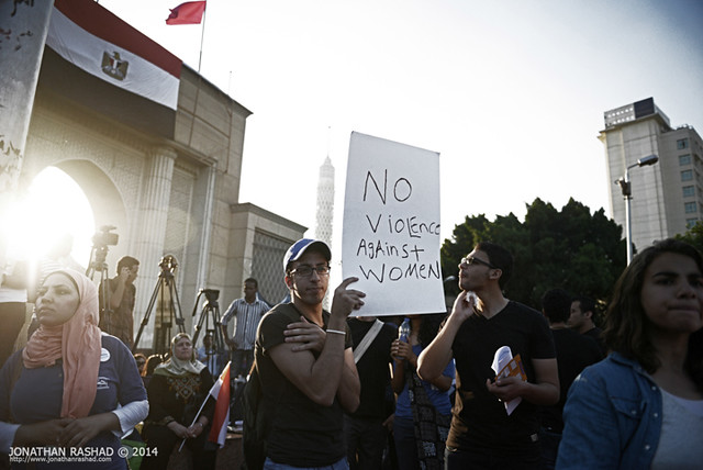 Egyptians Protest Against Sexual Harassment