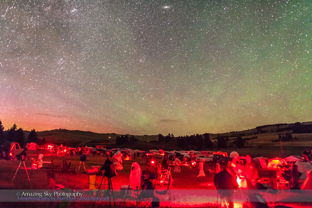 Table Mountain Star Party With Airglow The Observing Field