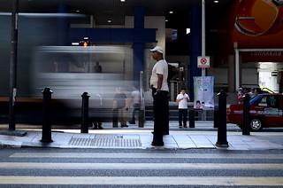 Stillness   Slow Shutter   Masjid Jamek LRT Station   by Johnragai-Moment Catcher