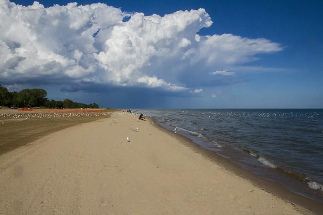 Big Beach, Big Clouds