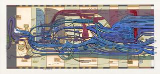 Ward Shelley's Jewish Diaspora Painted Mindmap   by spagnoloacht