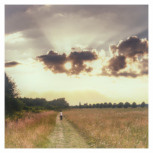 sunset england sun clouds walking unitedkingdom path sony meadow route sunrays a77 southoxfordshire longwittenham sonyalpha andyhough slta77 andyhoughphotography