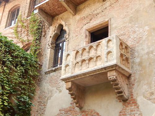 Verona - balkon van Giulietta
