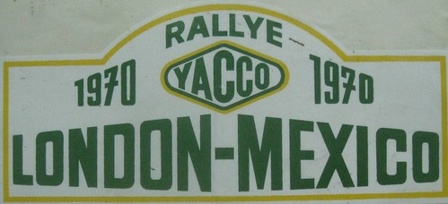 Mercedes @ 1970 London-Mexico Rallye 280se