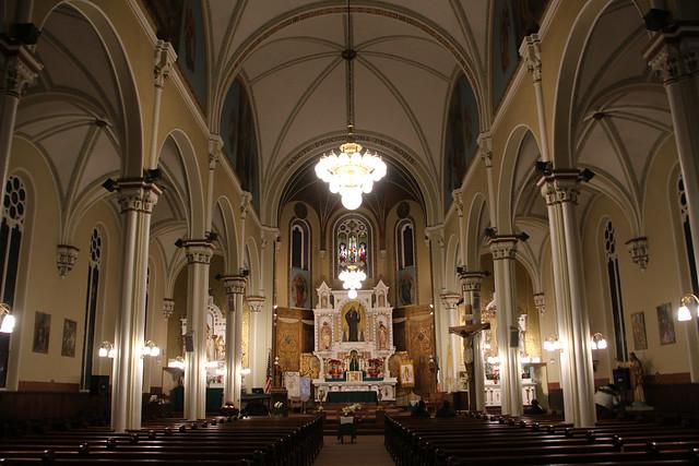 St. Procopius Catholic Church Interior