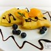 Mango-rosemary pancake