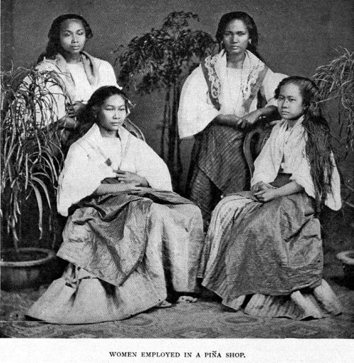 Native Filipino Women Photo Taken In The Late 1890 S Pho Flickr