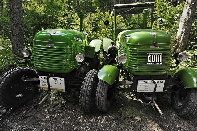 Steyr Traktor Typ T-180 1952 - 1st TSTC Tauplitz Steyr Traktor Club Austria Copyright © 2014 Bernhard Egger :: eu-moto images 1121