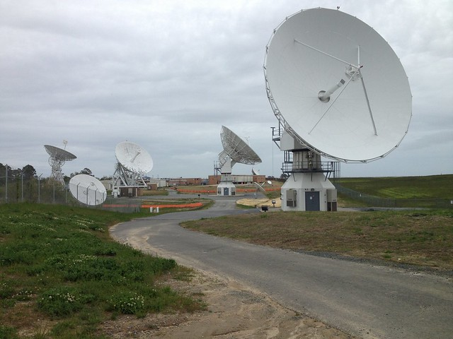 GOES-West Antenna at WCDAS