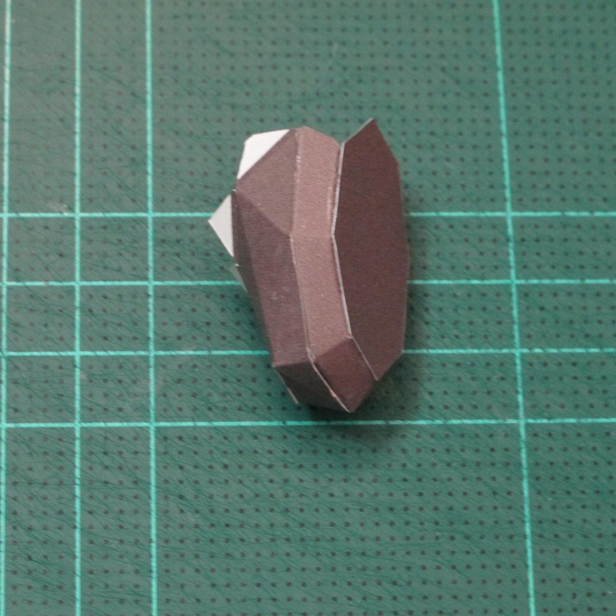 วิธีทำโมเดลกระดาษหมีบราวน์ชุดบอลโลก 2014 ทีมบราซิล (LINE Brown Bear in FIFA World Cup 2014 Brazil Jerseys Papercraft Model) 013