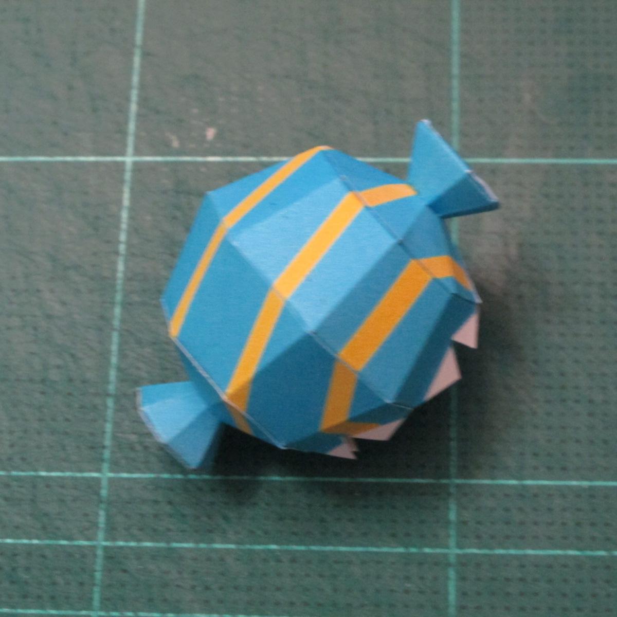 วิธีทำโมเดลกระดาษของเล่นคุกกี้รัน คุกกี้รสพ่อมด (Cookie Run Wizard Cookie Papercraft Model) 024