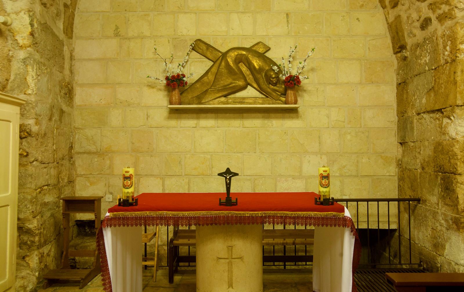 Jerusalem_Via Dolorosa_Station 7 (2)-Noam Chen_IMOT