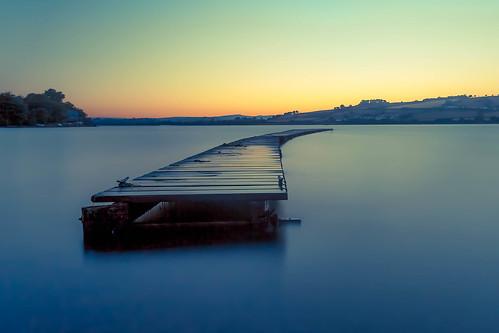 blue beauty river coast jetty devon le minimalistic riverteign leefilter coombecellars bigstopper