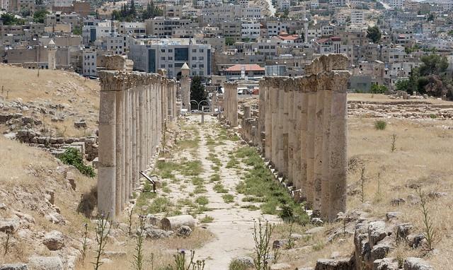 Jerash - XXXVI: South Decumanus.