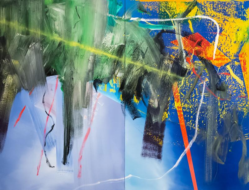 "Gerhard Richter, ""Clouds"", 1982 au MoMA, New York"