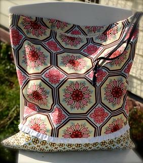 Ginger Blossom Laundry Bag