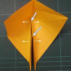 การพับกระดาษเป็นรูปปลาคาร์ฟ (Origami Koi Fish) 013