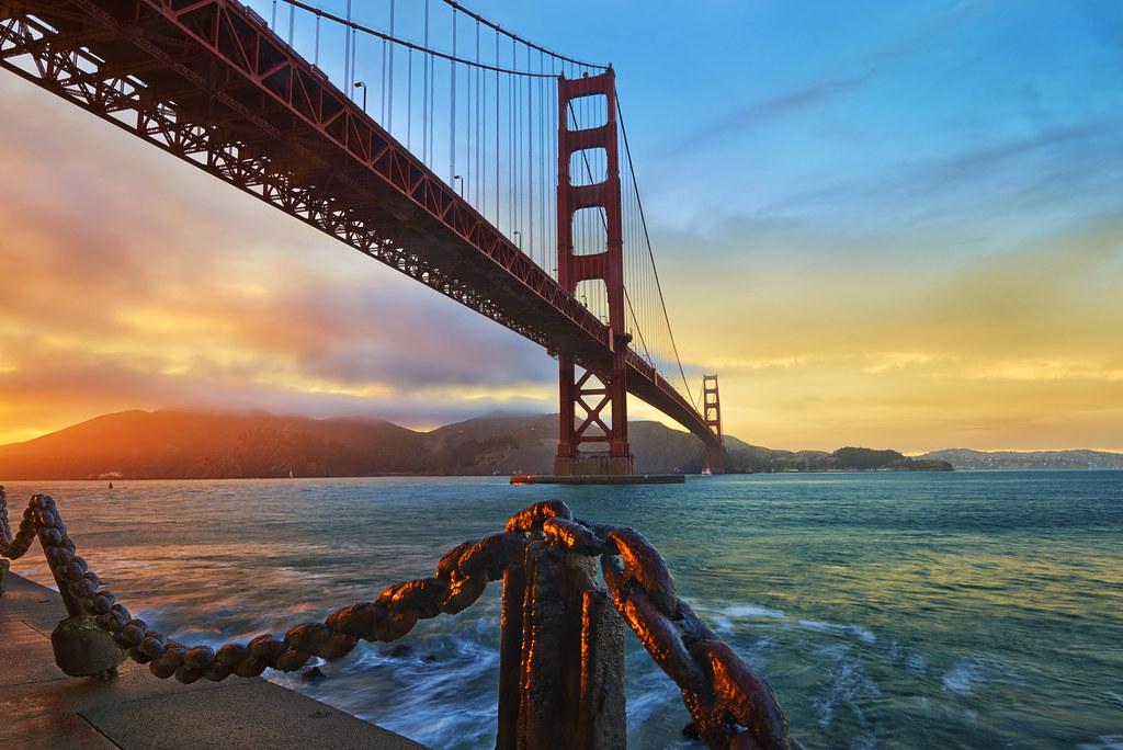 которые постер мост золотые ворота втягивали нас