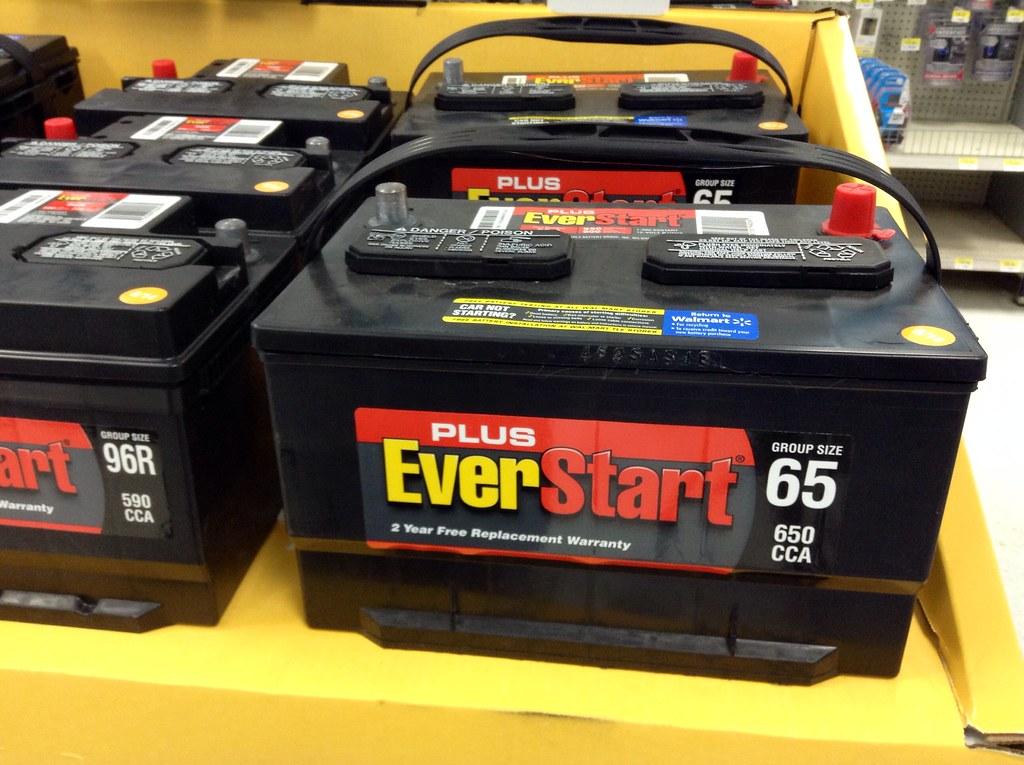 Walmart EverStart Car Batteries, Battery   Walmart EverStart