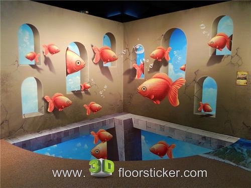 3d exhibition sticker (215) | by 3D floor sticker - YeJun