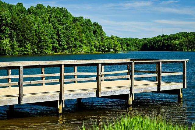 Reidsville Lake Fishing Dock*