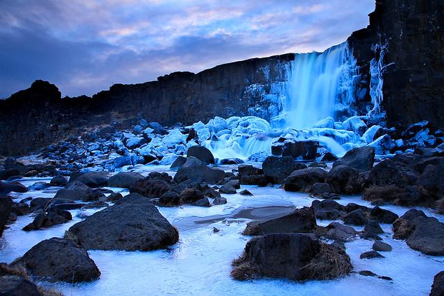 Öxarárfoss - Þingvellir National Park, Iceland