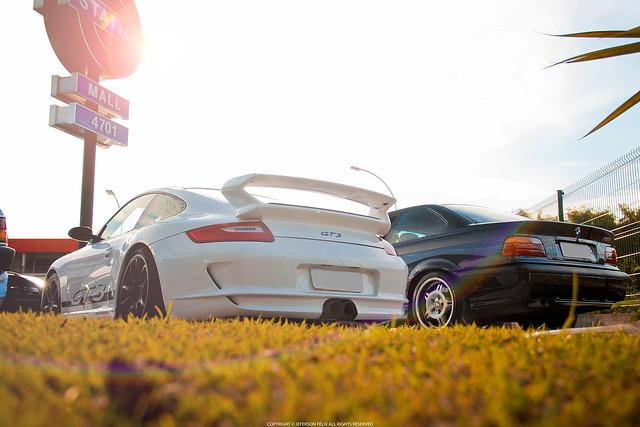 Porsche 911 GT3 & BMW M3