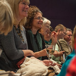 Attentive Book Festial audience |