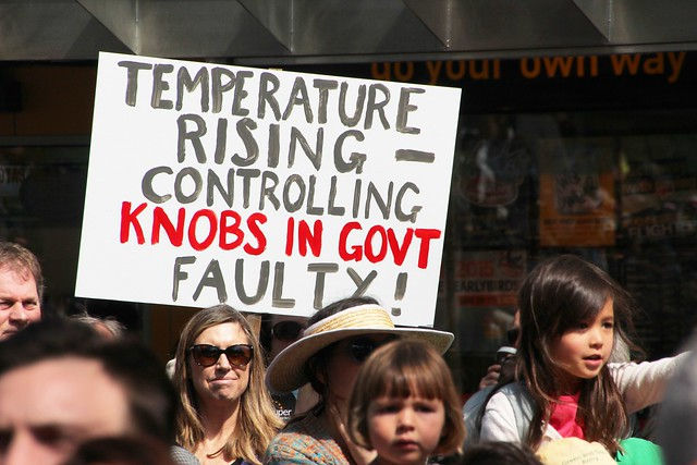Temperature rising - PeoplesClimate-Melb-IMG_8188