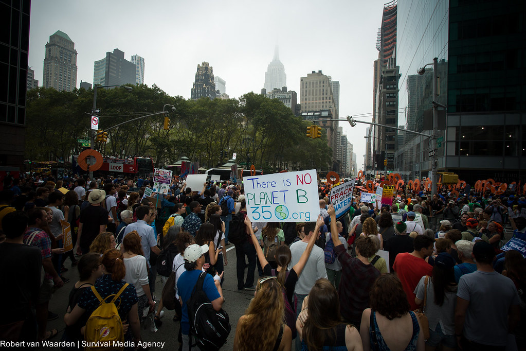 Peoples Climate March.