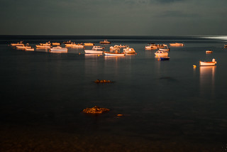 Boats on calm sea | by crazylord