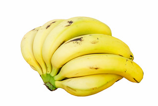 Bananas white background | by augustusbinu