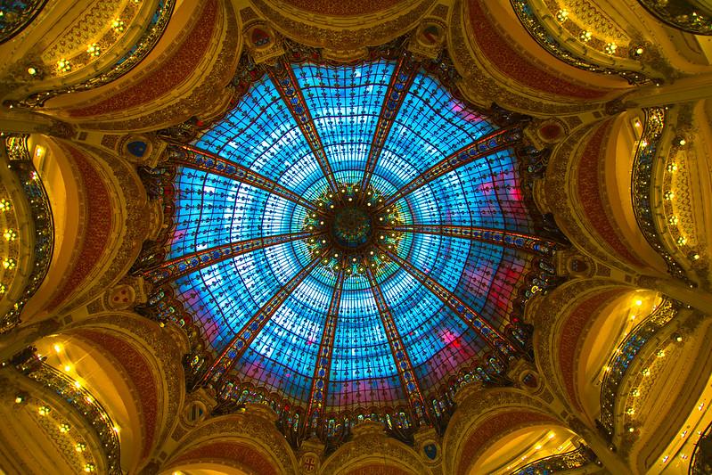 Dome. Galleries Lafayette