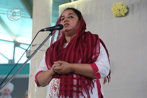 Navneet Kaur from Sant Nirankari Colony, Delhi, expresses her views