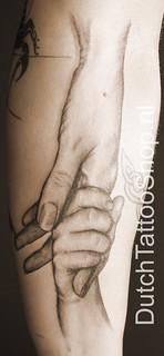 Handen Moeder Kind Tattoo Dutch Tattoo Shop Flickr