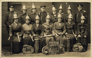 Jarrow Ladies Fire Brigade, 1916